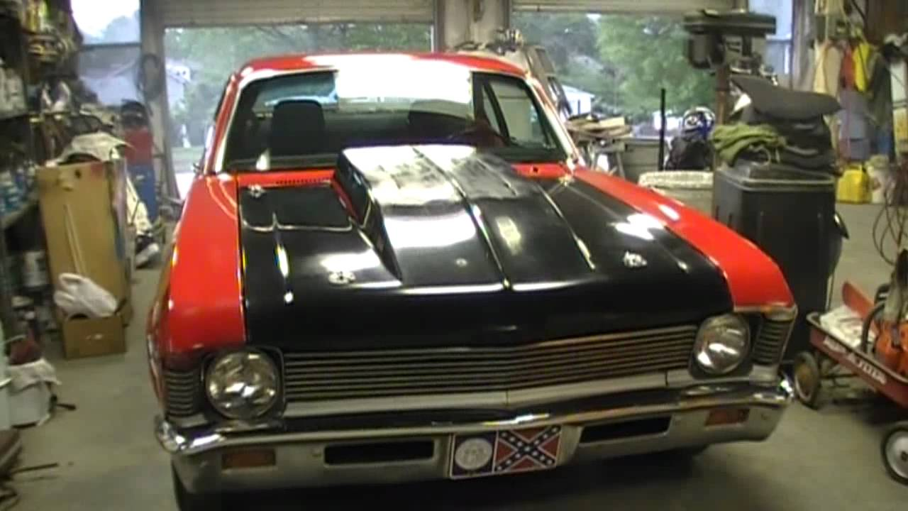 street legal 1969 nova drag racing car 4sale youtube. Black Bedroom Furniture Sets. Home Design Ideas