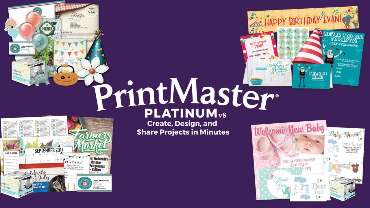 gratuitement printmaster deluxe