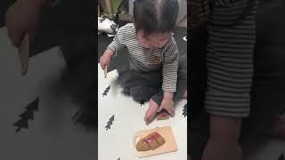 [장난감] 리틀타익스 원목자르기