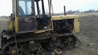 Подготовка трактора ДТ 75 к запуску. посевная 2018 г.