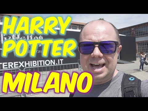 HARRY POTTER EXHIBITION MILANO 2018 - INAUGURAZIONE