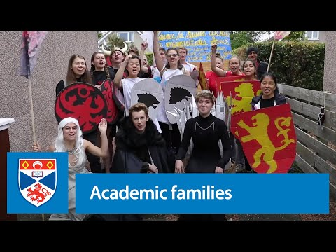 Academic families at the University of St Andrews