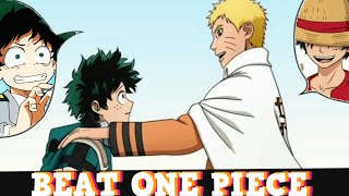 Naruto Creator Told The My Hero Academia Creator To BEAT ONE PIECE! Addressed RIP-OFF Accusations!!!