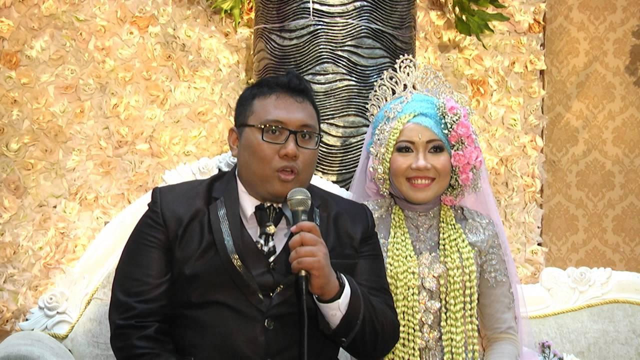 0813-5786-7170 || rias pengantin muslim modern emma & insan @ graha widya  untag by raddin wedding