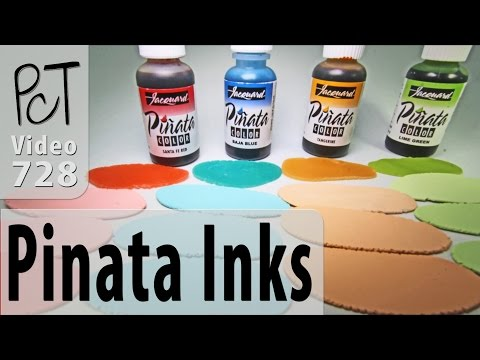 Tinting Polymer Clay With Pinata Alcohol Inks