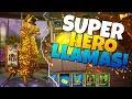 SUPER HERO LLAMAS!!!