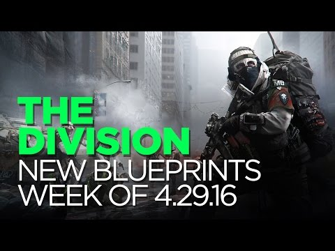 New Blueprints 4.29.16 - The Division