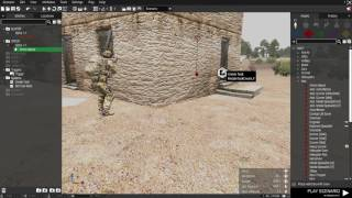 Arma 3 Eden editor. Create a Kill task/Mission completed.
