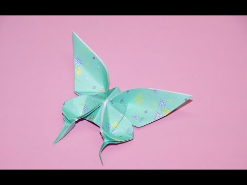 How to make Origami Butterfly - YouTube   360x480