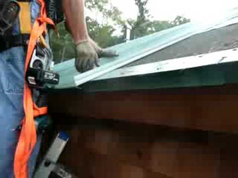 Metal Roofing Standing Seam Metal Roof Installation