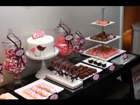 Diy Cute Dessert Ideas For Baby Shower Youtube