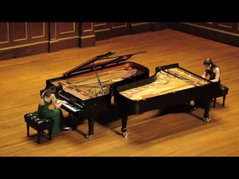 3/14 Schumann Duo plays Wild Asses from Saint-Saens' Carnival of the Animals