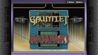 CGR Undertow - GAUNTLET / RAMPART review for Game Boy Advance
