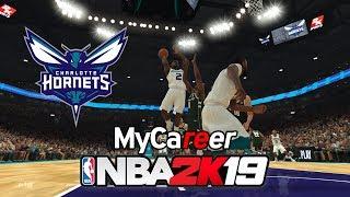 NBA 2K19 pc gameplay   MyCareer mode   Charlotte Hornets