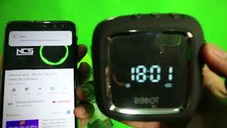 Speaker Murah JAM ROBOT RB530 Bluetooth Speaker With clock + Cara Pakai