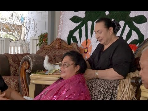 HRH Princess Pilolevu - Blake Family Hair Cutting - In honour of Queen Mother Halaevalu Mata'aho