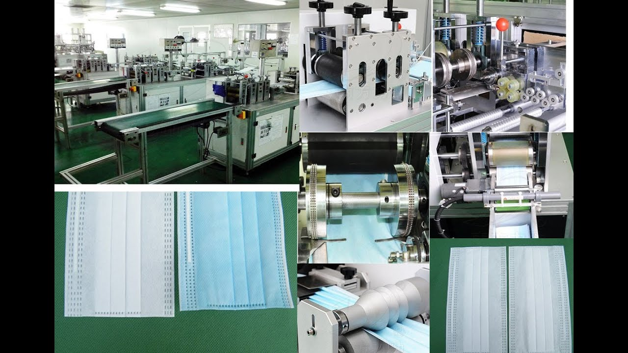 Face Mask Making Machine Automatic Surgical Mask Filling
