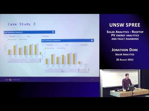 UNSW SPREE 201508-20 Jonathon Dore - Rooftop PV Energy Analytics