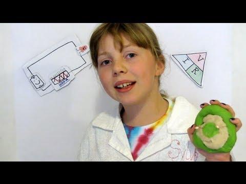 Squishy Circuits -- Sylvia's Mini Maker Show