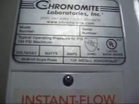 Instant-Flow Water Heater Teardown on