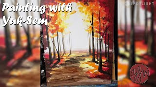 Painting with Yuk-Sem | Ep 21 - Golden Forest