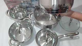 Набор Посуды 10пр KingHoff KH1096 - обзор