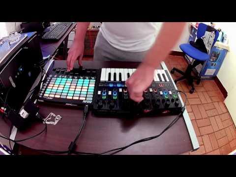 D!Markz - Techno DJ SET (New Traktor Mapping Test) // Random Mix #8 //