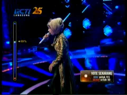 Grand Final The Rising Star: Indah Nevertari - Man Down