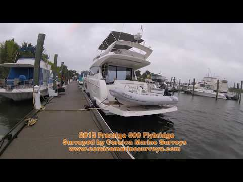 2015 Prestige 500 FLY Marine Survey