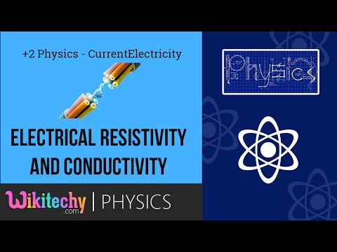+2 Physics Current Electricity - Electrical Resistivity and Conductivity | Samacheer | wikitechy.com