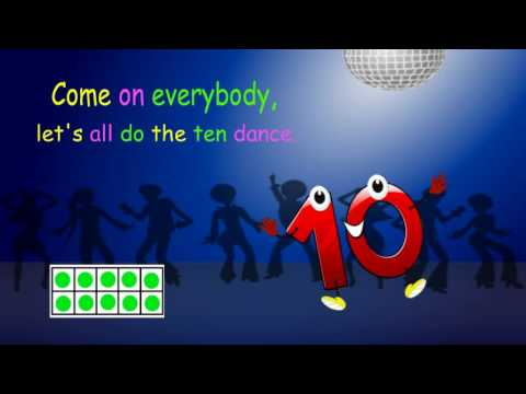 Let's all do the 10 dance (number bonds of 10 song)