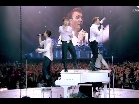 Take That - Back for Good   ( Live )