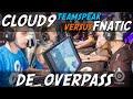 CS:GO - Cloud9 [teamspeak] vs Fnatic (overpass) @ ESL ESEA Pro League Finals