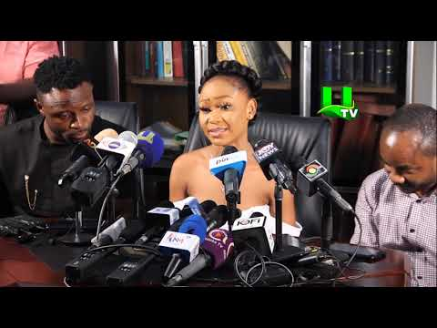 Download Akuapem Poloo Breaks Down In Tears At Press Conference