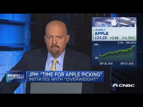 JP Morgan's Apple report was nothing new, says Cramer