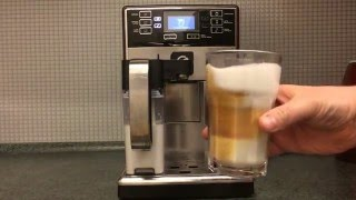 Philips Saeco PicoBaristo HD8927/09 - Coffee Making (Espresso + Latte)(Short movie of my Philips Saeco PicoBaristo making a cup of coffee and latte., 2015-12-21T18:22:44.000Z)