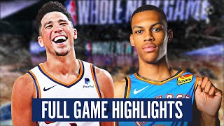 OKC vs SUNS - FULL GAME HIGHLIGHTS | 2019-20 NBA Season