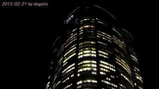 六本木ヒルズ 六本木通り 夜景 Night view Roppongi Hills Tokyo Japan 49