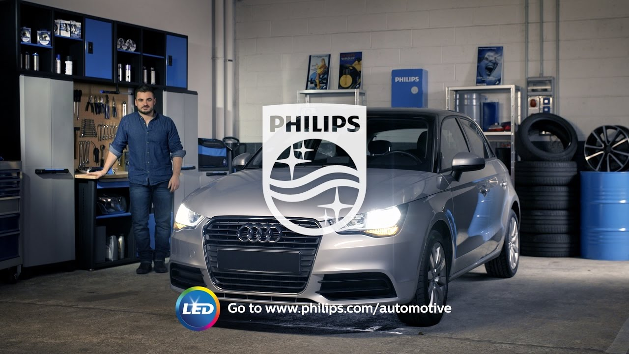 How to replace headl&s on your Audi A1 with LED retrofit bulbs - Philips automotive lighting & How to replace headlamps on your Audi A1 with LED retrofit bulbs ... azcodes.com