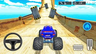 Monster Truck Mega Ramp - Impossible Extreme Stunts GT Racing - Android Gameplay