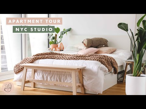 New York City Apartment Tour | Manhattan Studio