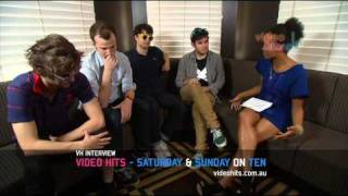 Video Hits Interview with Vampire Weekend - Part 1