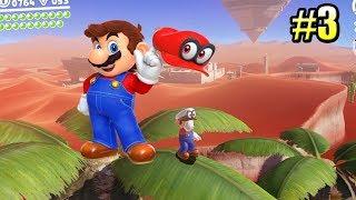 Super Mario Odyssey {Switch} прохождение часть 3 — МариоМексика Песчаное Царство