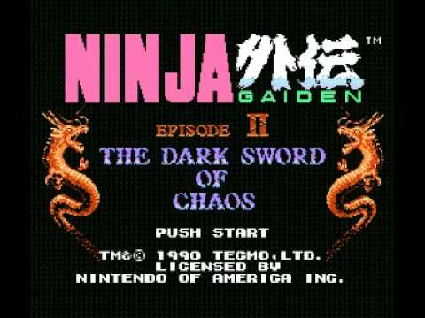 Ninja Gaiden II - The Dark Sword of Chaos (NES) Music - Prologue Theme