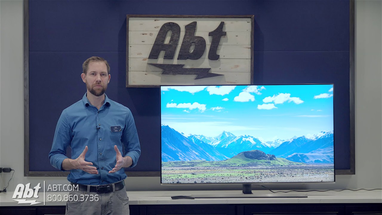 Overview: Samsung NU8000 Series 4k LED TV - UN55NU8000