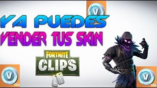 FORTNITE CAN YOU SELL YOUR SKIN FOR MONEY?