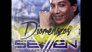 DIOMEDES DIAZ SUPER EXITOS  SEVEN LA DESTRUCTORA  DJ EWDUAR MIX