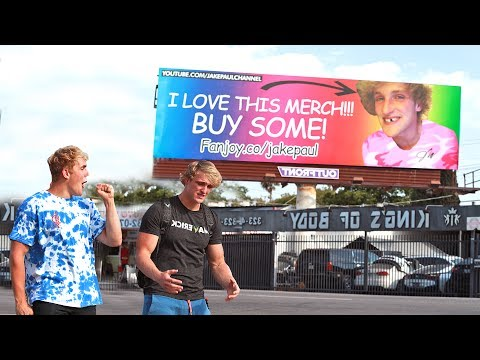 Thumbnail: EMBARRASSING BILLBOARD PRANK ON MY BROTHER (HE FREAKED)