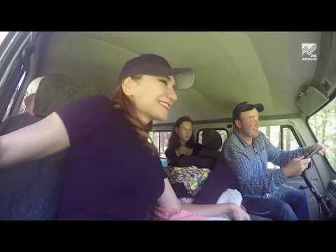 Съемочная группа программы «Твой выходной» отправилась к высокогорному озеру в окрестностях Теберды