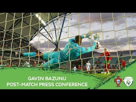 POST-MATCH PRESS CONFEFRENCE | Gavin Bazunu